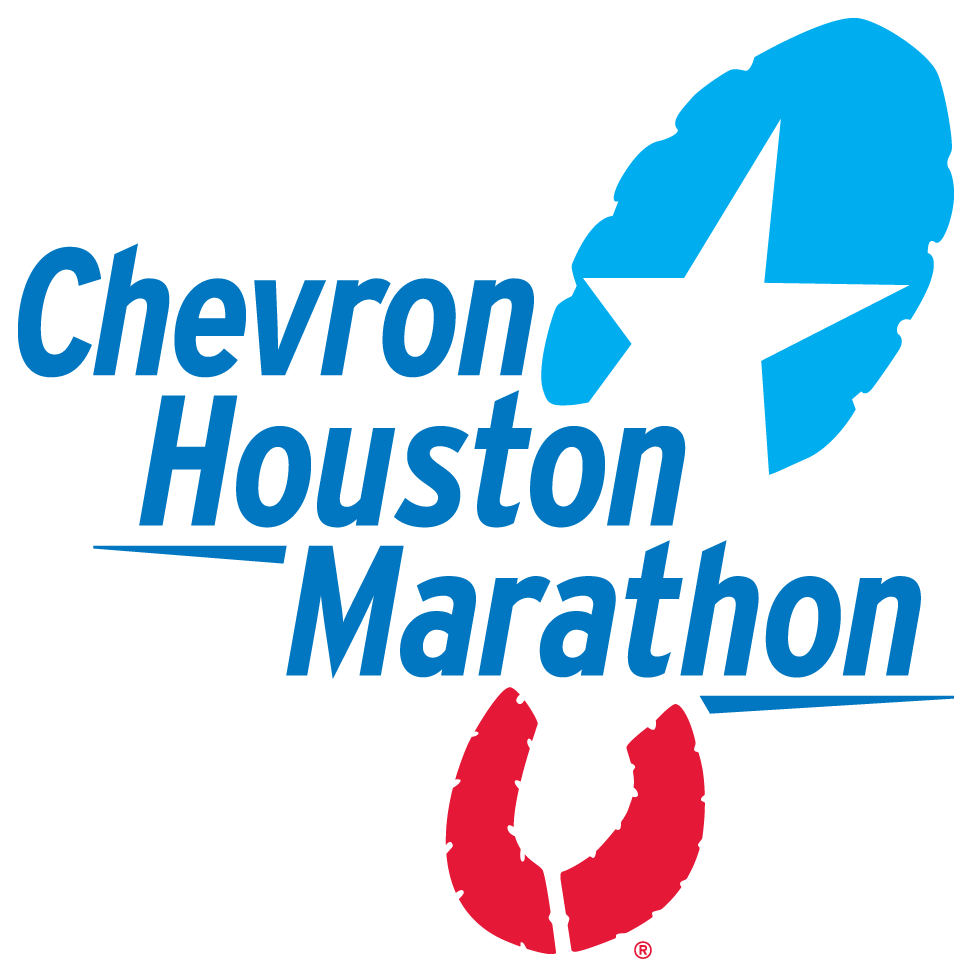 chevron houston marathon logo